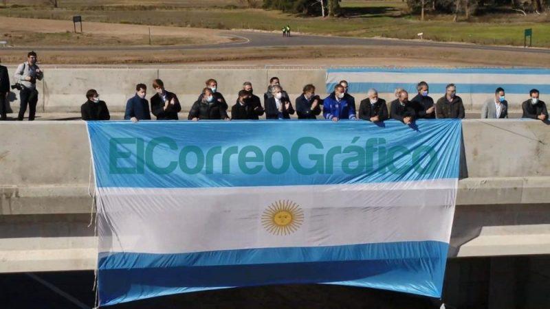 Se inauguro un tramo de la Autopista Ruta Nacional 7 entre Chacabuco y Junin 📬 El Correo Grafico 2