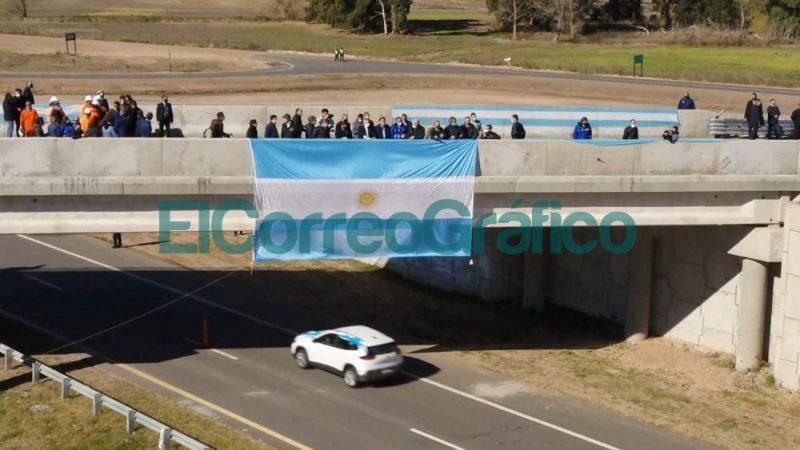 Se inauguro un tramo de la Autopista Ruta Nacional 7 entre Chacabuco y Junin 📬 El Correo Grafico 3