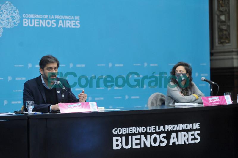 Sin Gollan Bianco dio el show de la situacion epidemiologica en la Provincia 📬 El Correo Grafico 3