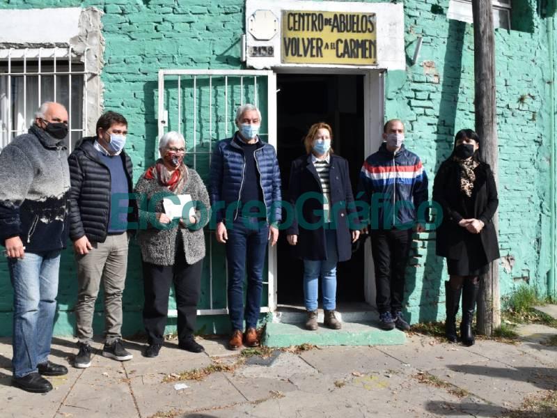 Subsidio de PAMI al Centro de Jubilados Volver a 'El Carmen 3