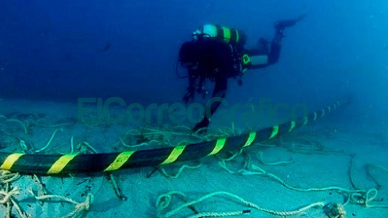 cable submarino de fibra optica