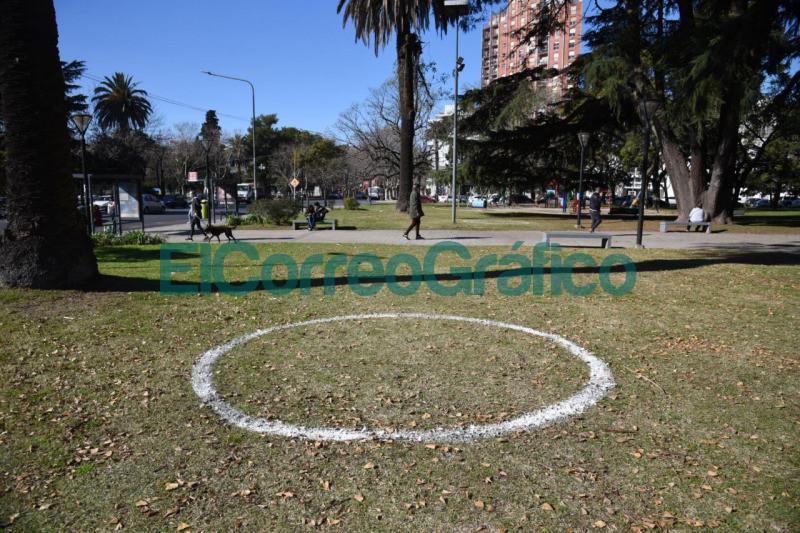 Con calles peatonales y distanciamiento en espacios verdes preparan para el Dia del Amigo 2