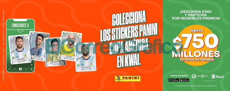 El album de figuritas de la Copa America ahora en tu celular Panini Argentina
