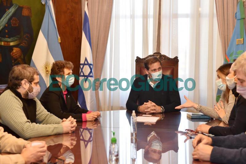 Garro con la Embajadora de Israel acuerdan cooperacion para promover inversiones 1