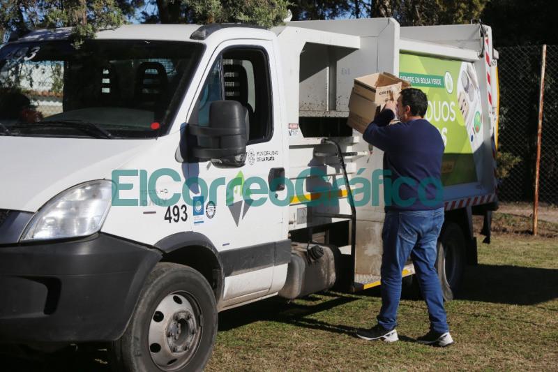 La Plata sumo un Punto Verde Movil que recorrera los barrios para promover la separacion de residuos 1