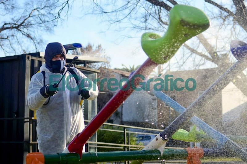 Operativos de limpieza y desinfeccion en espacios publicos 1