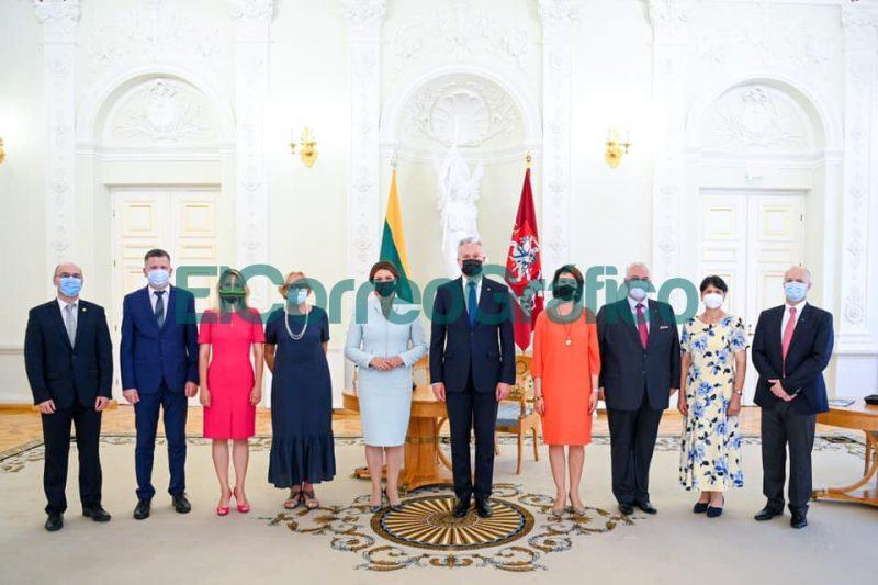 Presencia berissense en encuentro con el Presidente de Lituania 1