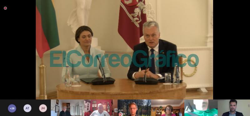 Presencia berissense en encuentro con el Presidente de Lituania 2