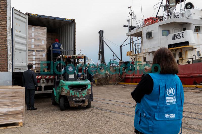 Provincia recibio donaciones de ACNUR 1