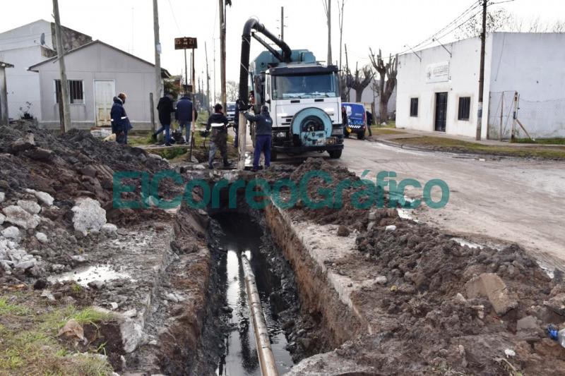 Restauracion de la red cloacal en Villa Progreso 12
