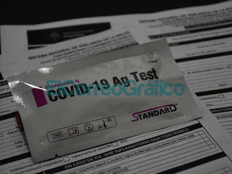 Testeo rapido de COVID en la Clinica Mosconi 3